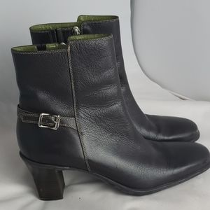Cole Haan Kerri brown leather ankle boots, sz8.5 M